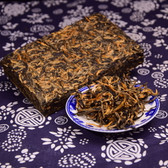 Fengqing Honey Golden Buds Dianhong Dian Hong Yunnan Gold Black Tea Brick 250g