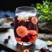 Organic Roselle Hibiscus Rose Jasmine Chrysanthemum Assorted Herbal Tea 20 Bags