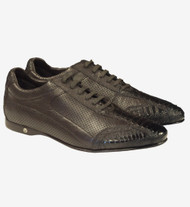 Vestigium Genuine Ostrich Leg Faded Tone & Calf Weekend Sneaker