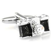 Crystal Camera Cufflinks (V-CF-C491)