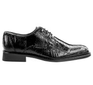 Belvedere 100% Genuine Ostrich Leg Classic Dress Tie Shoe