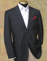Gianni Manzoni 2-Button Super 150's Wool Italian Blazer