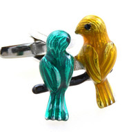 Two Love Birds Cufflinks (V-CF-M50402)