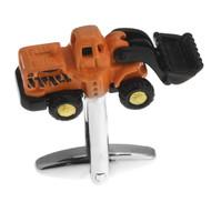 X-Large Front Loader Construction Truck Cufflinks (V-CF-71047)