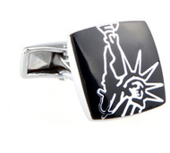 Abstract Statue of Liberty Cufflinks (V-CF-52679)
