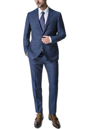Outlet Center: Paul Betenly 2-Button Super 120's Vantage Wool Suit - Slim Fit