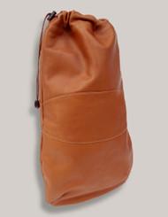 Piel Leather Drawstring Shoe Bag
