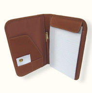 Piel Small Notepad Leather Folder