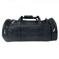 Piel Leather Large Gym Style Bag