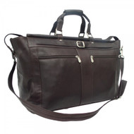 Piel Large Leather Carpet Bag