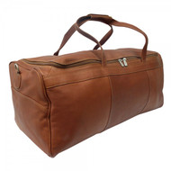 Piel Large Travel Leather Duffle Bag
