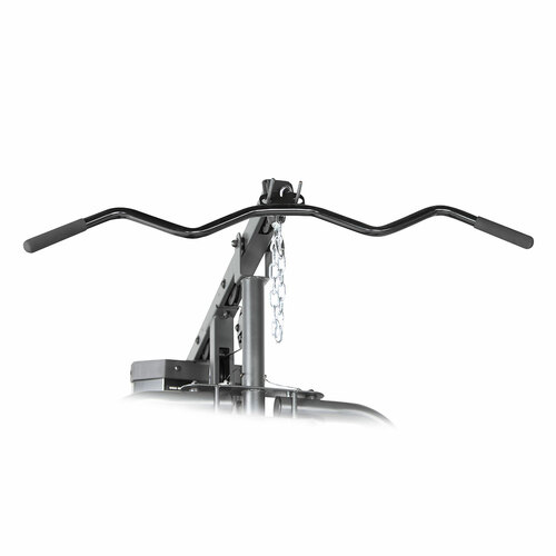 The Marcy 150 lb Stack Home Gym MWM-990 includes a lat bar for a full body workout
