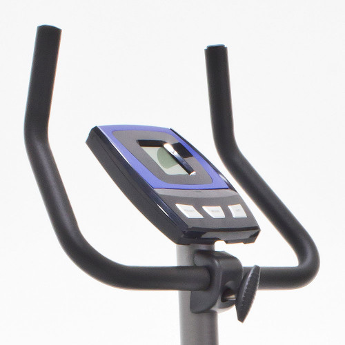 The Marcy Magnetic Resistance Upright Bike NS-1201U has ergonomic handles for added comfort