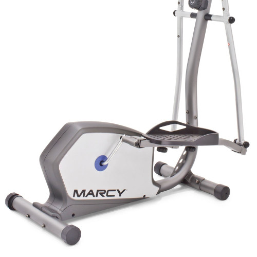 The Marcy Elliptical NS-1201E works out both your upper body and your lower body