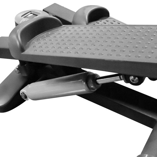 The Mini Stepper with Bands Marcy MS-69 has large grip pedals for added safety