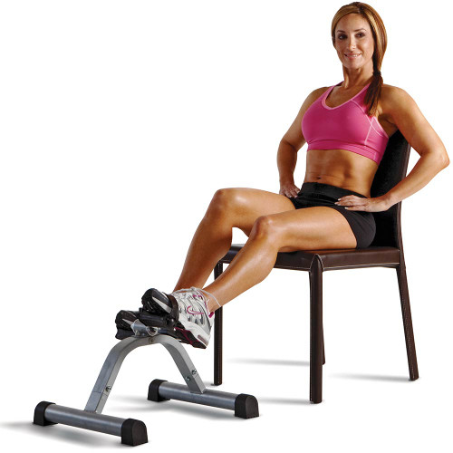 The Mini Pedal Exercise Cycle Marcy NS-912  is small and portable