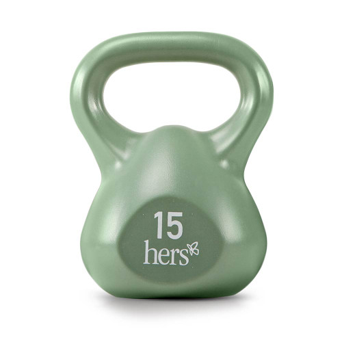 Hers 30 Lbs Kettlebell Weight Set VKBS-30 has a durable vinyl finish