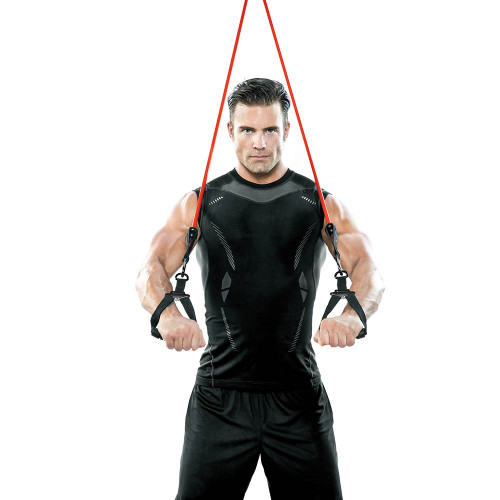 Heavy Duty Bionic Body 60 lb Resistance Band in use