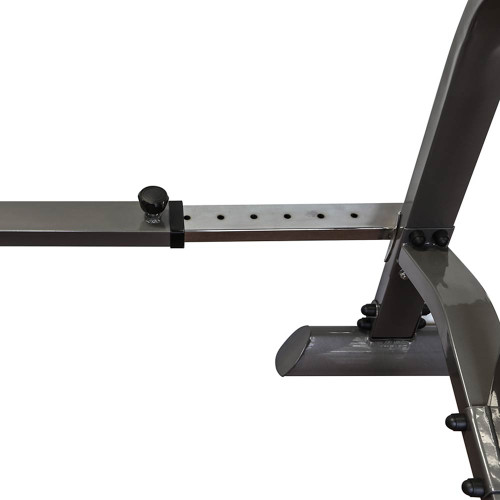 The Marcy Adjustable Squat Rack MWB-70100 is adjustable to fit your needs