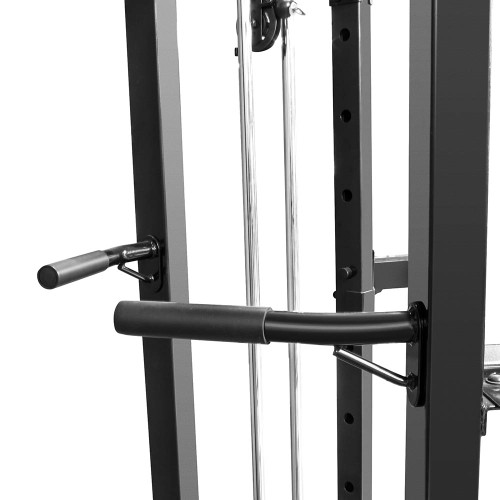 The Marcy Cage System SM-3551 includes  dip bars