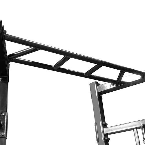 The Marcy Cage System SM-3551 includes spaced bars for varied pull ups