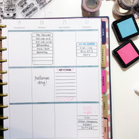 List It: Big in the BIG Happy Planner