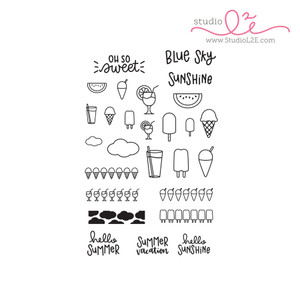 Sweet Summer planner stamps by Studio L2E