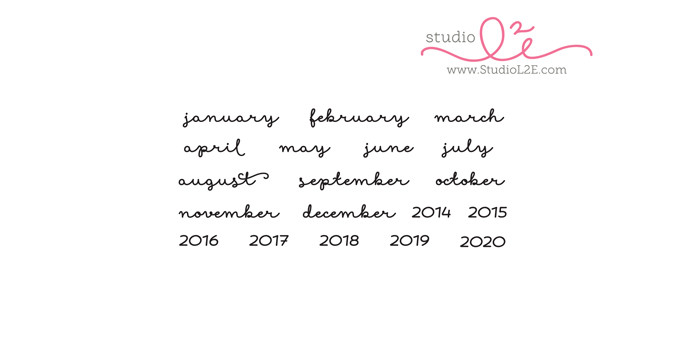 Track It: Months