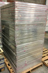 Used 36 X 42 Aluminum Screen Printing Frames