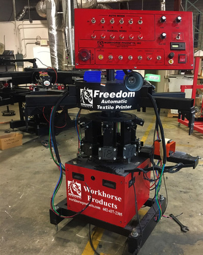 like new 2013 Workhorse Freedom 6 color 8 station