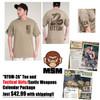 DTOM-2A T-shirt Tan COMBO Pack $42.99 w/S&H!