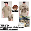 DTOM-2A T-shirt Tan EXW Pack $32.99 w/S&H!