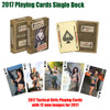 2017 Tactical Girls Playing Cards - Single Deck