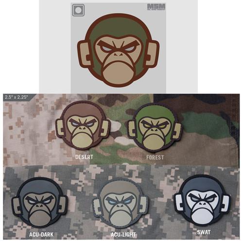 Mil-Spec Monkey Head Logo- PVC