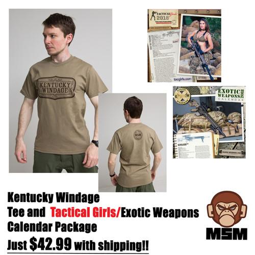 Kentucky Windage Tee Combo Pack $42.99 w/S&H!
