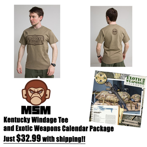 Kentucky Windage Tee EXW Pack $32.99 w/S&H!