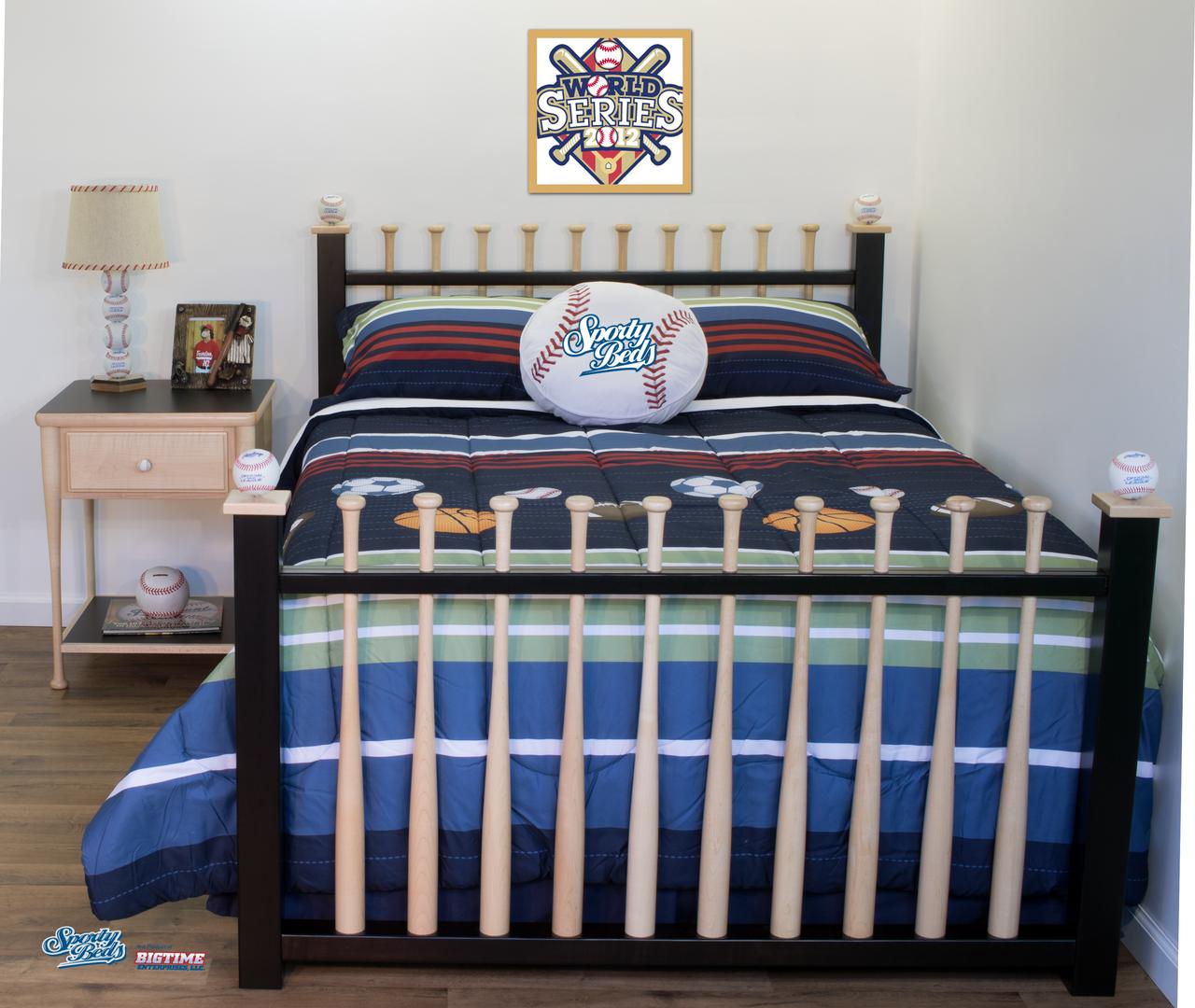 Grand Slam 3 Piece Bedroom Set / Sporty Beds
