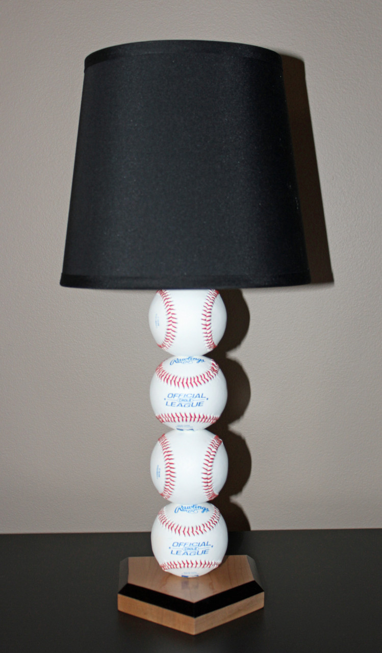 Baseball Lamp by Sporty Beds