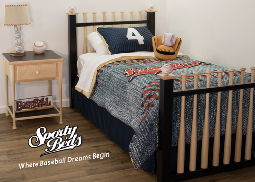 Grand Slam 3 Piece Twin Bedroom Set / Sporty Beds