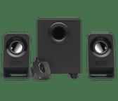 3 Piece Logitech 2.1 Computer Speaker Set System