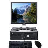 Dell Optiplex Computer Package LCD KB Mouse