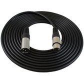 15' XLR Male to Female Microphone Cable
