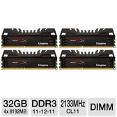 Kingston HyperX Beast 32GB (4 x 8GB) 240-Pin DDR3 2133