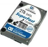 2TB Hard Drive Two Terabyte Desktop SATA 3.5
