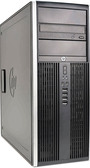 HP 8100 Elite Tower Quad Core i7 Windows 7 PC