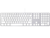 Apple A1243 Aluminum Ultra Thin USB Wired Keyboard
