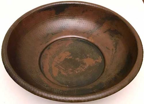 (BWL14) Hammered Copper Bowl
