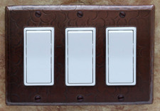 Switch Plate Cover (LSC103) 3 Gang Decora Deco GFI Triple *free shipping*