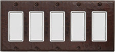 Switch Plate Cover (LSC702) 5 Gang Standard Decora Deco GFI *free shipping*