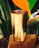 Hammered Mules (MINI134) Smooth Copper Mini Jigger Shot Glass